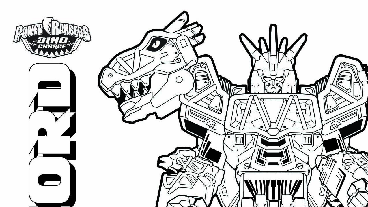 power rangers coloriage