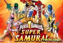 power rangers super samurai jeux