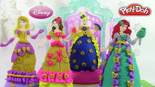 princesse pâte à modeler