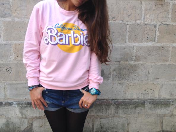 pull barbie