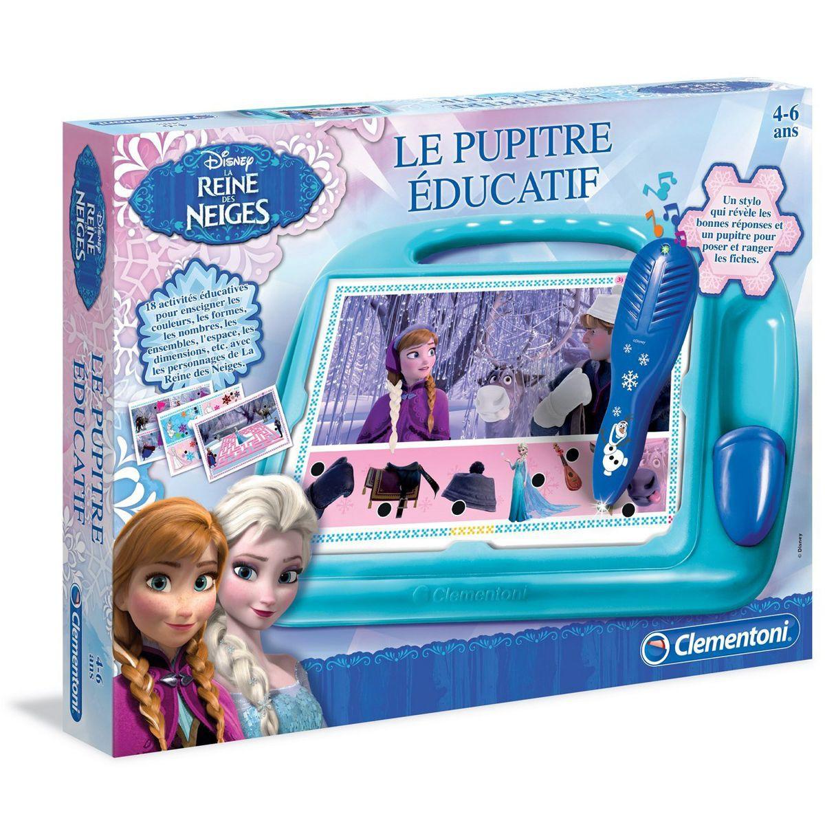 pupitre educatif la reine des neiges