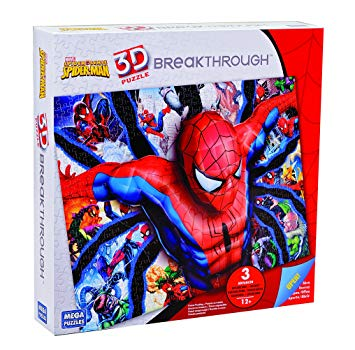puzzle 3d spiderman