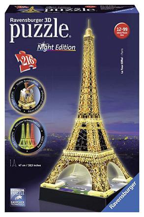 puzzle 3d tour eiffel ravensburger