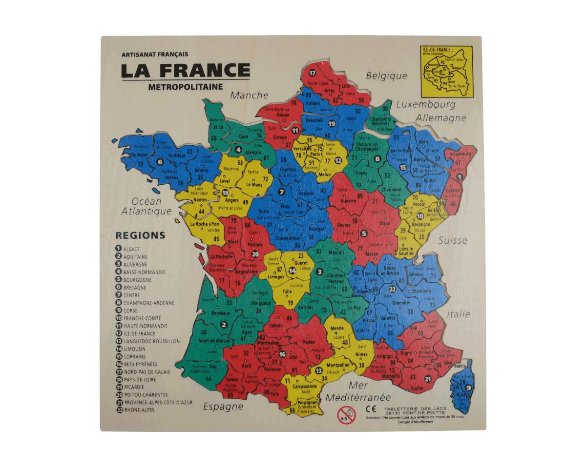 puzzle de france