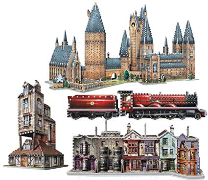 puzzle harry potter 3d