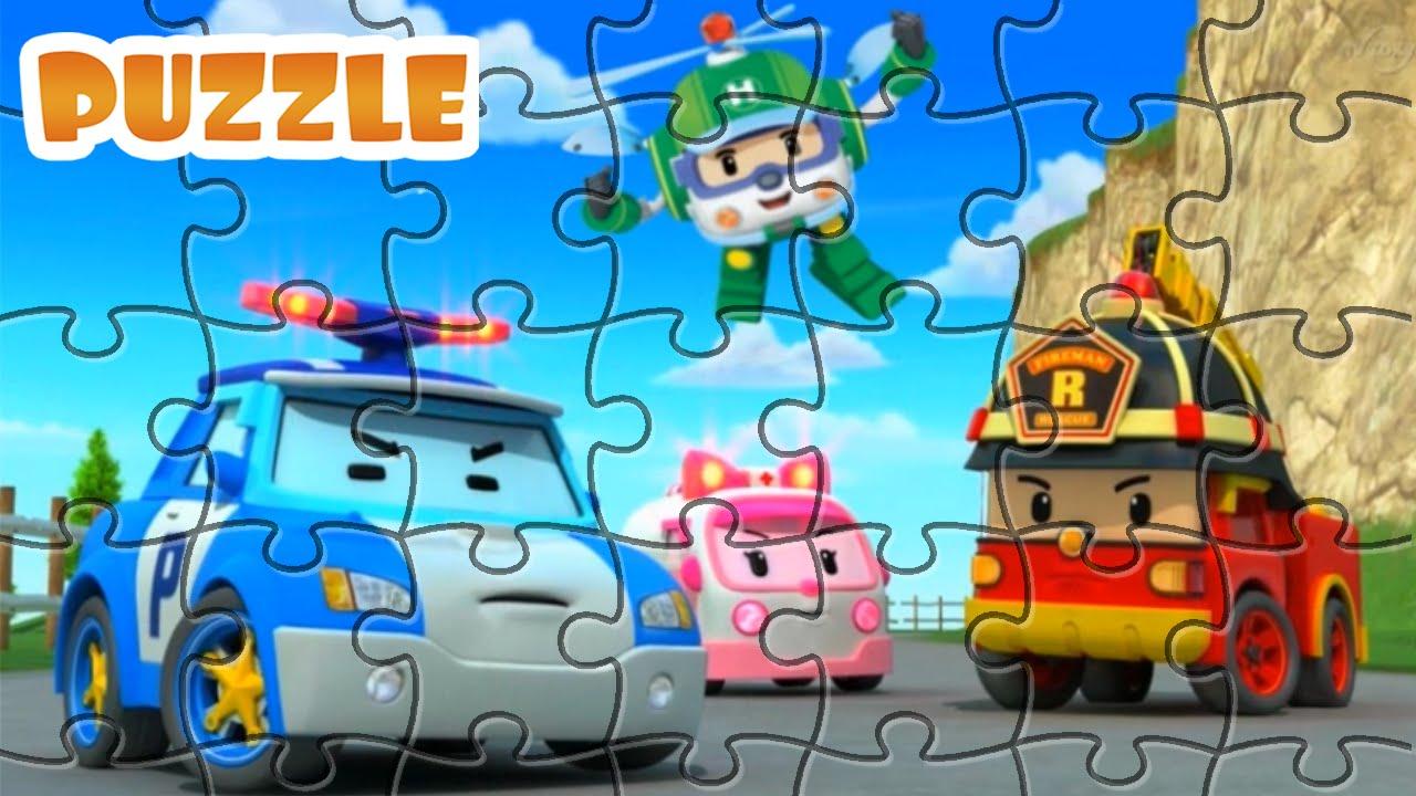 puzzle robocar poli
