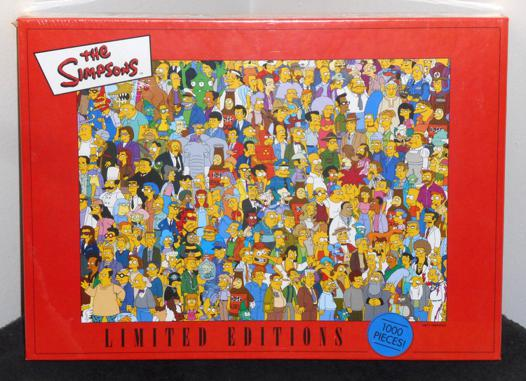 puzzle simpson 1000 pieces