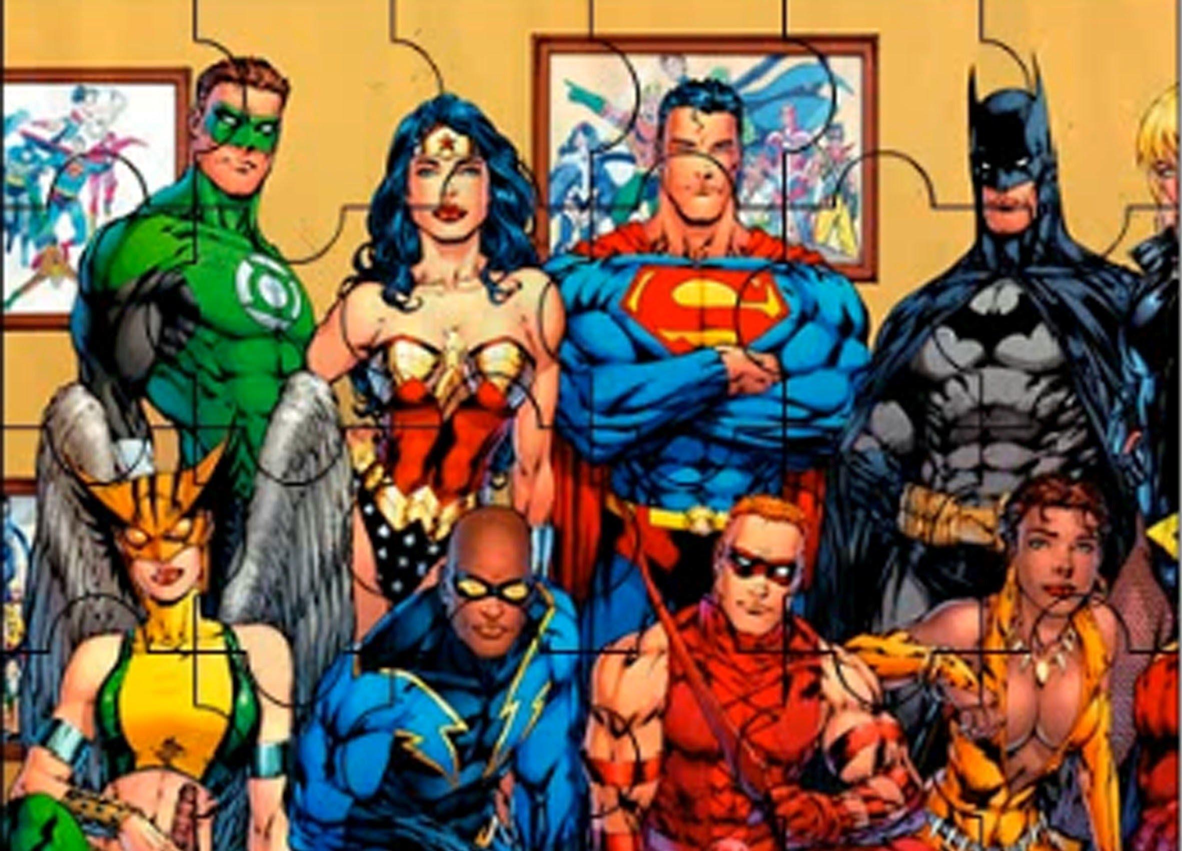 puzzle super heros