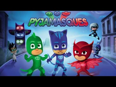 pyjamasque youtube