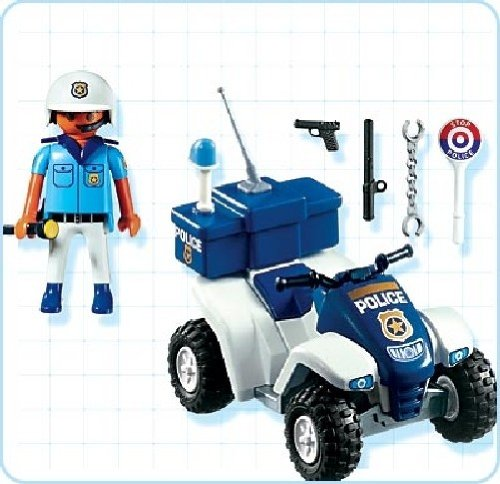 quad police playmobil