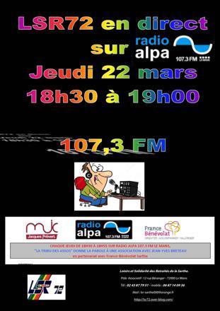 radio alpa en direct