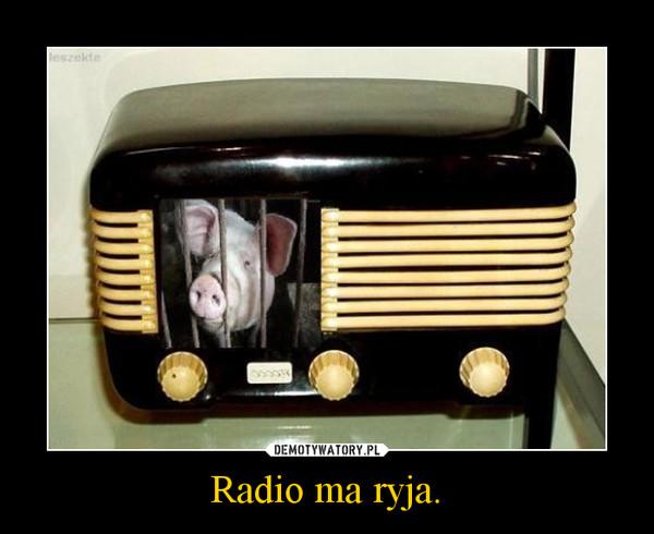 radio ma