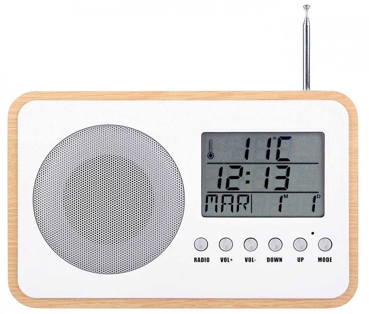 radio réveil à piles