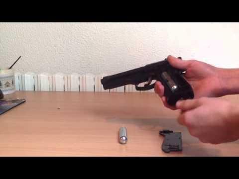 recharge pistolet