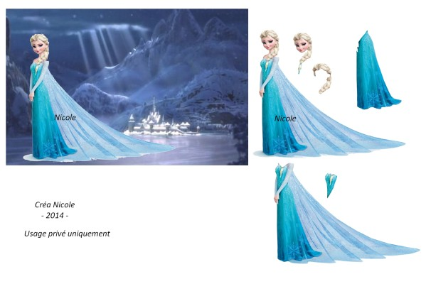 reine des neiges 3d