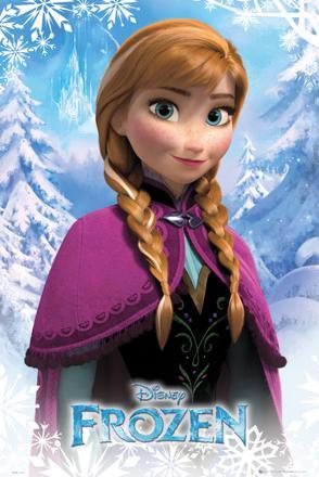 reine des neiges anna