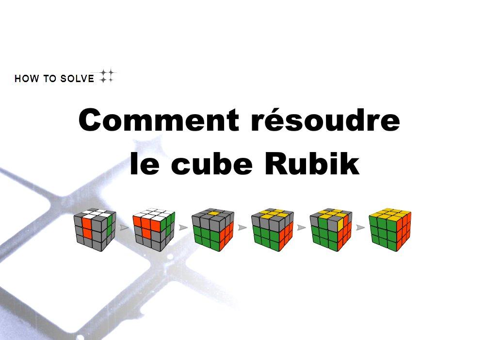 résoudre rubik's cube 3x3