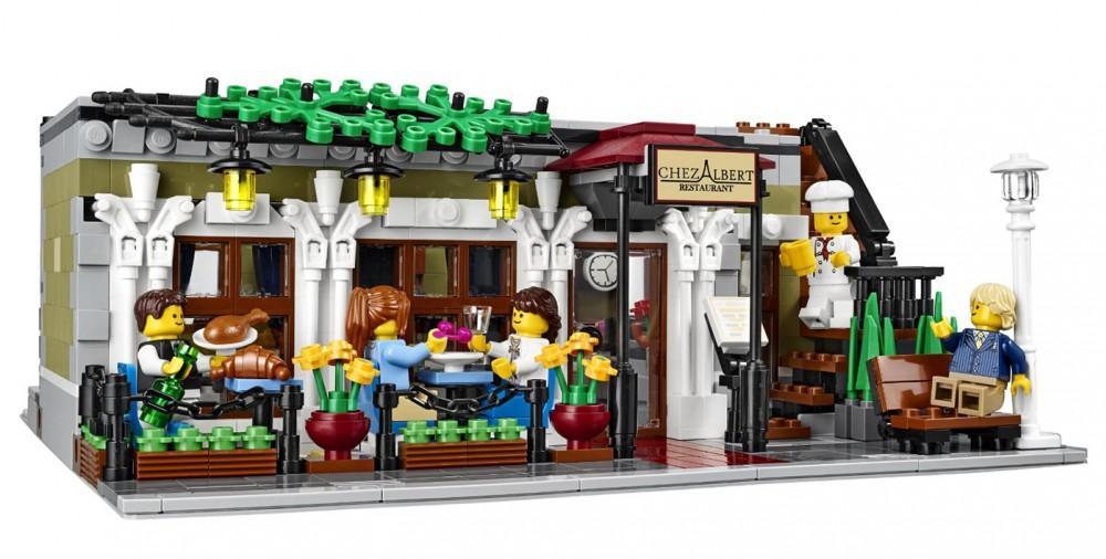 restaurant parisien lego