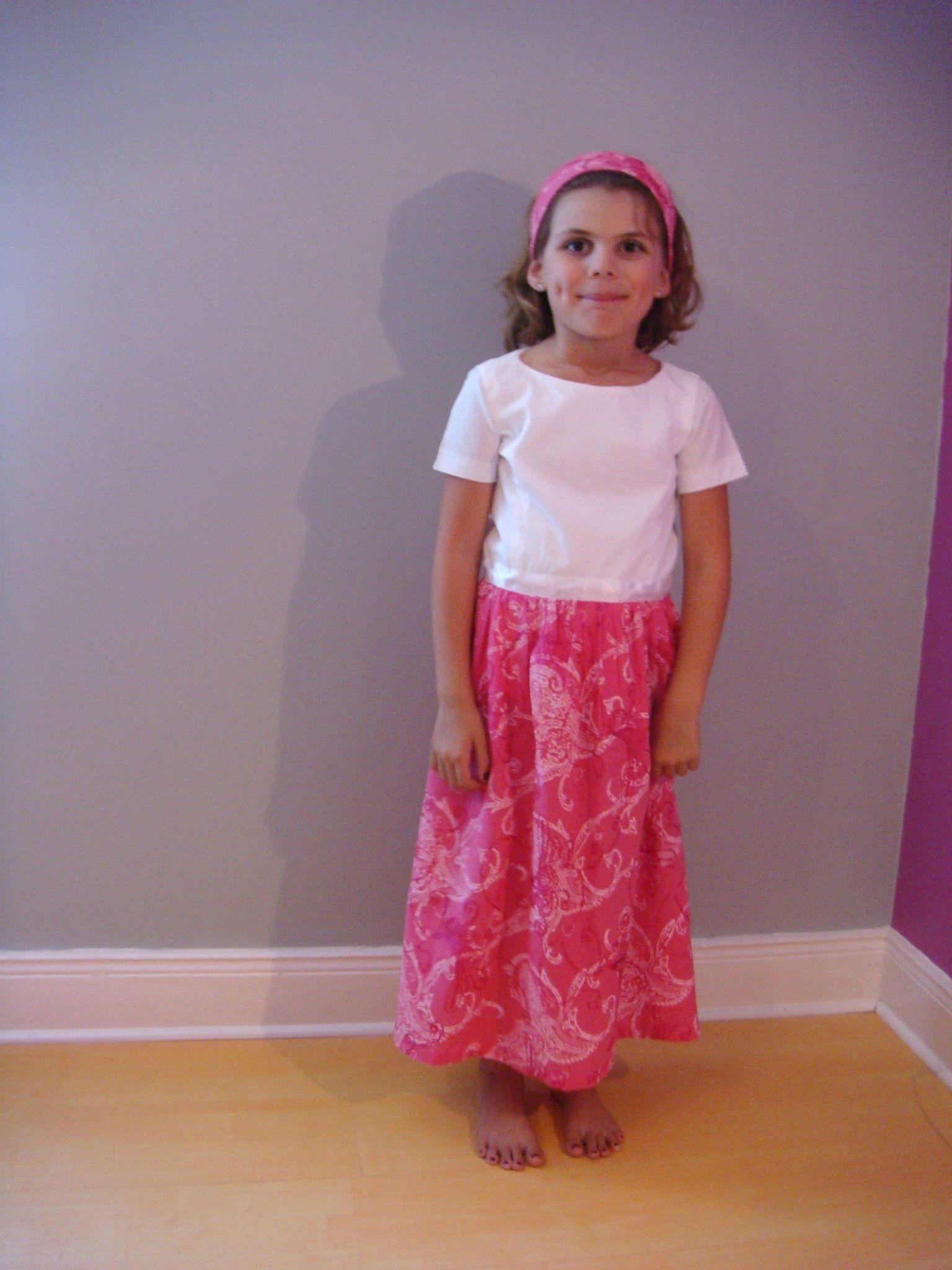 robe 7 ans
