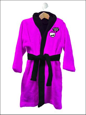 robe de chambre monster high