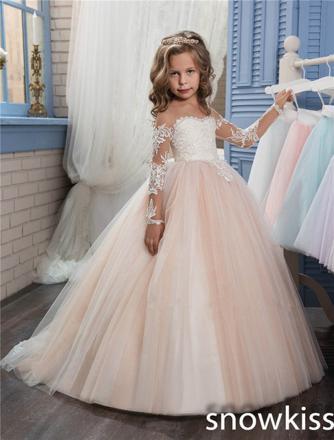 robe de princesse fille pour mariage