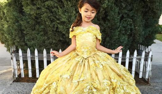 robe princesse disney fille