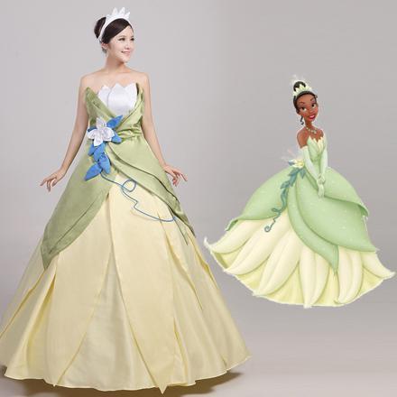 robe princesse et la grenouille