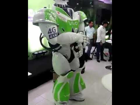 robot qui danse