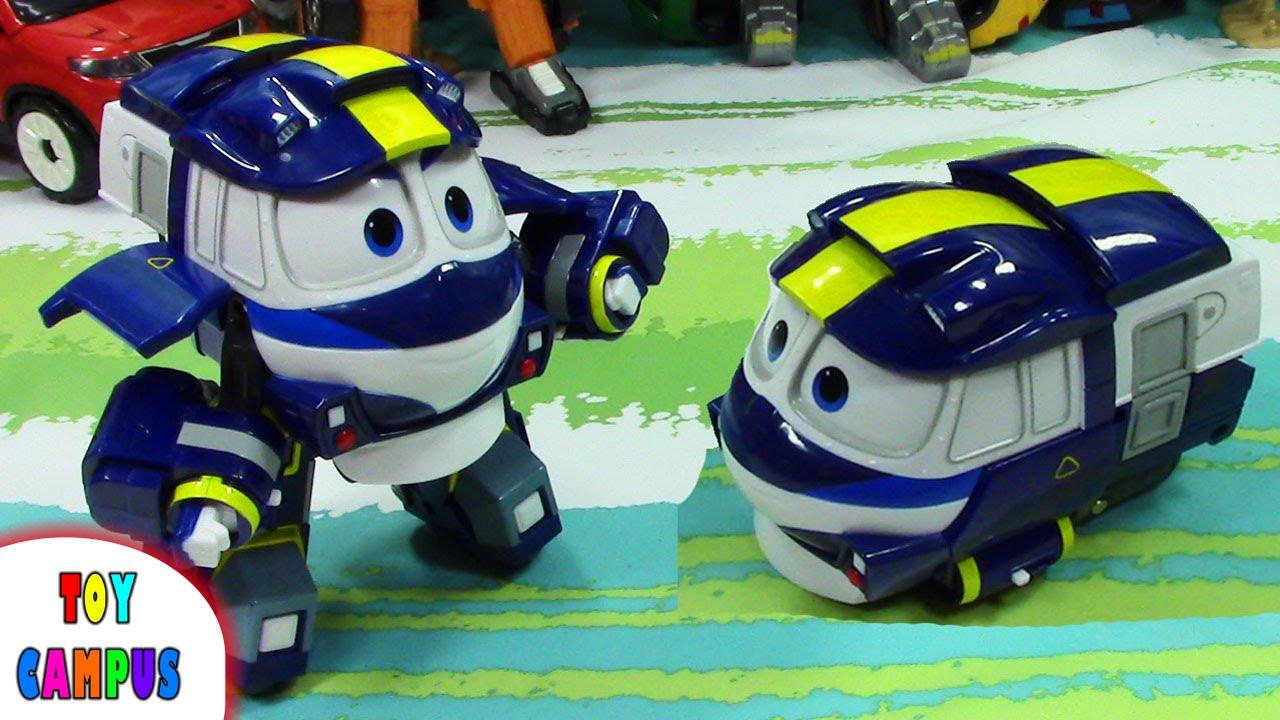 robot train en français