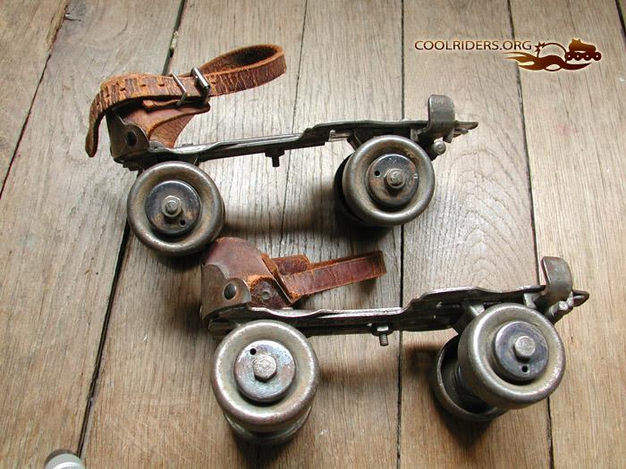 roller 4 roues vintage