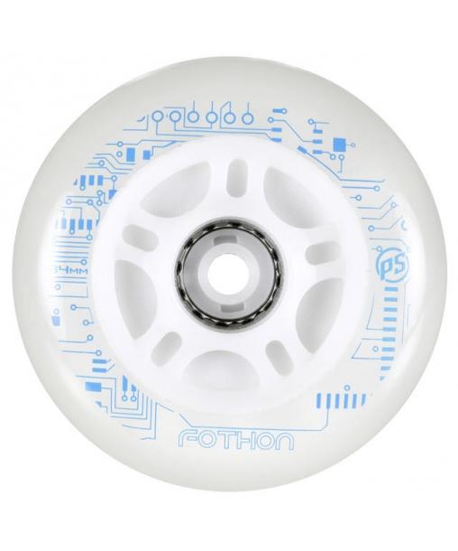 roue de roller lumineuse