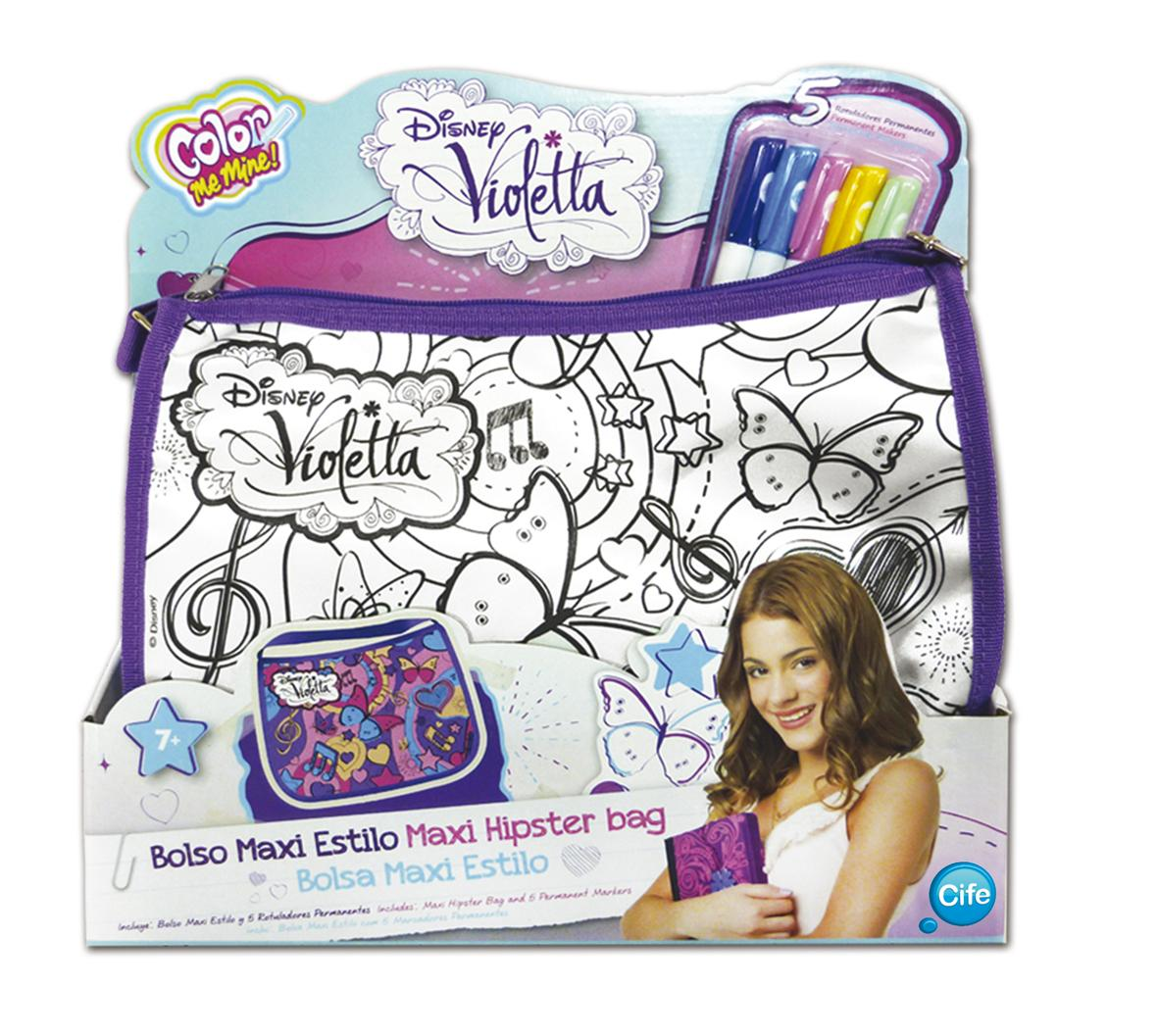 sac a colorier violetta