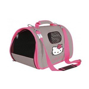 sac de transport pour chat hello kitty