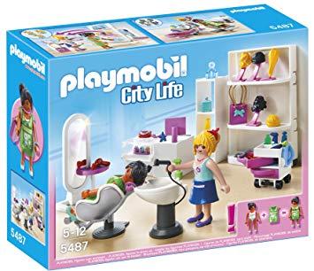 salon de coiffure playmobil