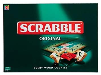 scrabble mattel