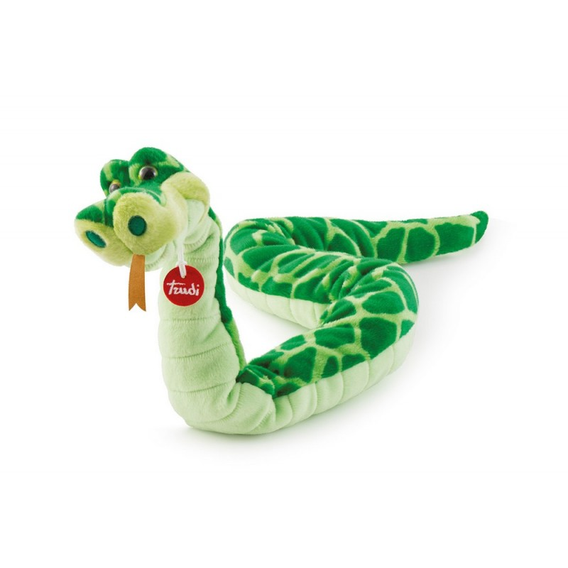 serpent en peluche