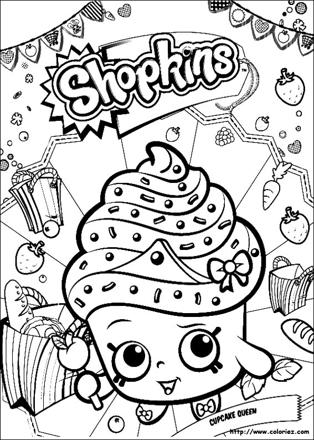 shopkins coloriage