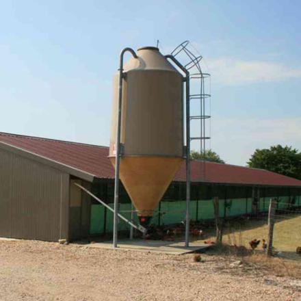 silo a grain