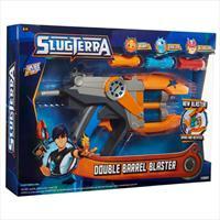 slugterra blaster double canons avec 3 slugs