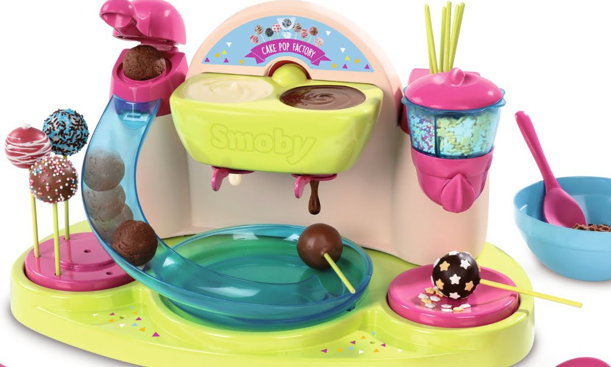 smoby cake pops factory