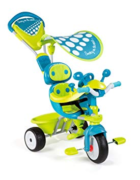 smoby tricycle baby driver confort