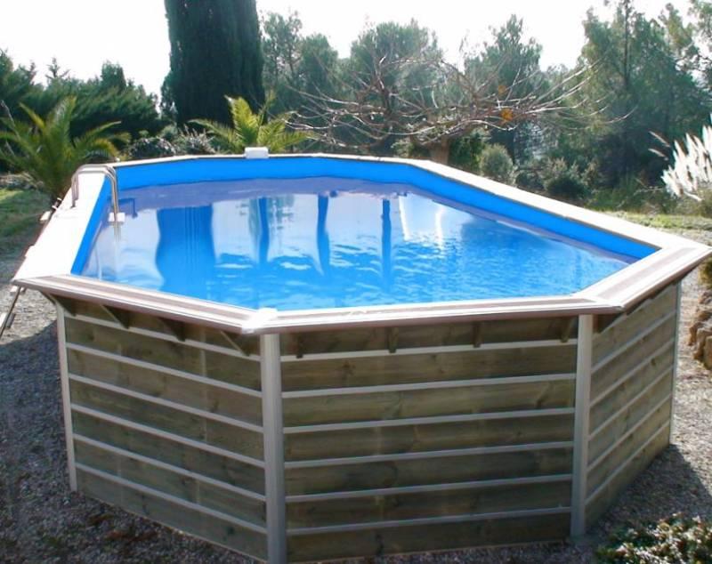 solde piscine bois