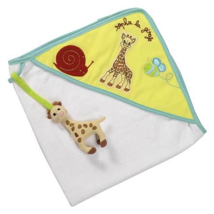 sortie de bain sophie la girafe