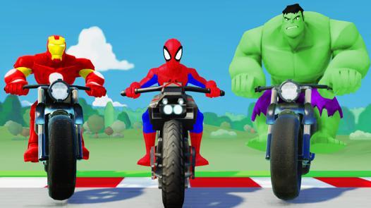 spiderman hulk iron man