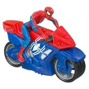 spiderman jeux moto
