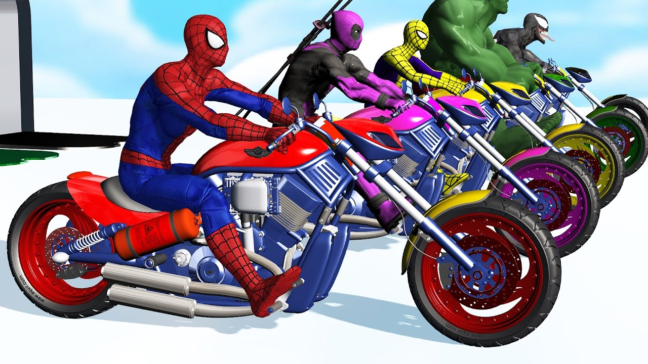 spiderman moto video