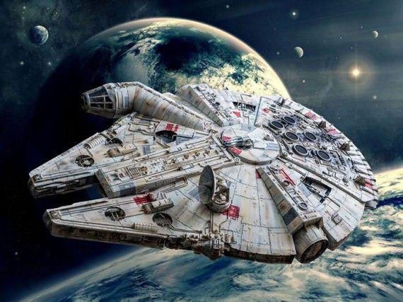 star wars faucon millenium