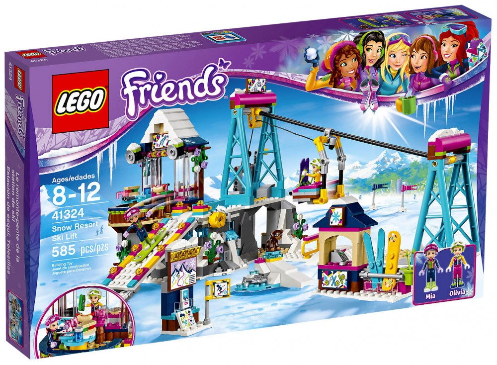 station de ski lego friends