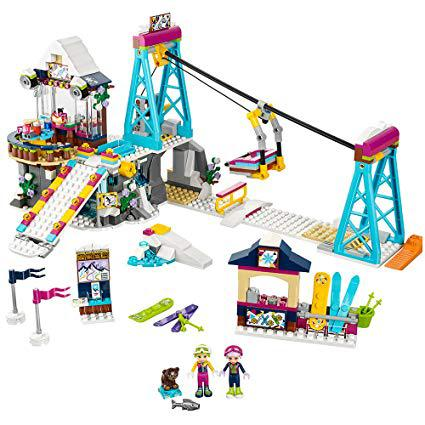 station ski lego friends