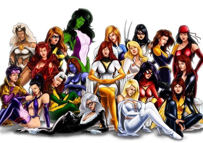 super héro femme liste